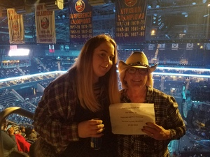 Elizabeth attended Soul2Soul Tour With Faith Hill and Tim McGraw on Oct 27th 2017 via VetTix