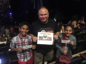 Alexander attended Soul2Soul Tour With Faith Hill and Tim McGraw on Oct 27th 2017 via VetTix