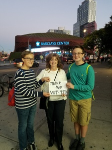 EDWARD attended Soul2Soul Tour With Faith Hill and Tim McGraw on Oct 27th 2017 via VetTix