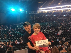 Joshua attended Soul2Soul Tour With Faith Hill and Tim McGraw on Oct 27th 2017 via VetTix