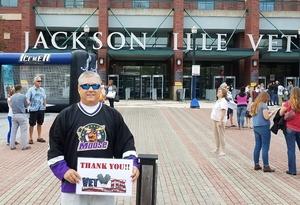 Daniel attended Jacksonville Icemen vs. South Carolina Stingrays - ECHL on Oct 21st 2017 via VetTix