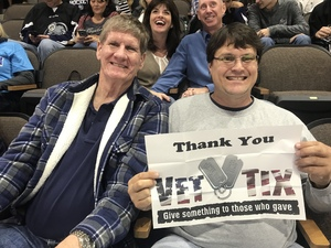 chris attended Jacksonville Icemen vs. South Carolina Stingrays - ECHL on Oct 21st 2017 via VetTix