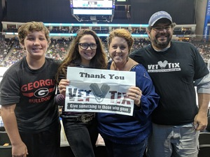 Joseph attended Jacksonville Icemen vs. South Carolina Stingrays - ECHL on Oct 21st 2017 via VetTix