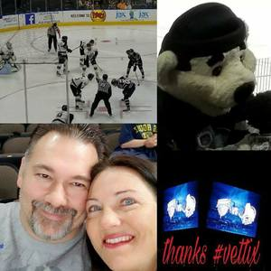 Tony attended Jacksonville Icemen vs. South Carolina Stingrays - ECHL on Oct 21st 2017 via VetTix
