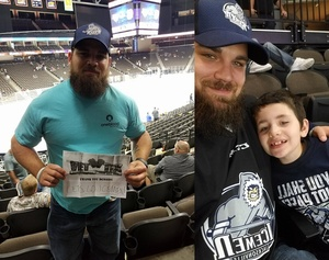 Ryan attended Jacksonville Icemen vs. South Carolina Stingrays - ECHL on Oct 21st 2017 via VetTix