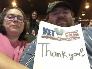Hilbert attended Jacksonville Icemen vs. South Carolina Stingrays - ECHL on Oct 21st 2017 via VetTix