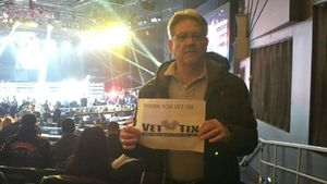 Evelio attended Glory 48 New York - Presented by Glory Kickboxing - Live at Madison Square Garden on Dec 1st 2017 via VetTix