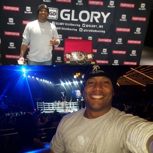 RAY attended Glory 48 New York - Presented by Glory Kickboxing - Live at Madison Square Garden on Dec 1st 2017 via VetTix