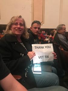 Tynette attended Bill Engvall on Oct 27th 2017 via VetTix