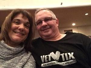Scott attended Bill Engvall on Oct 27th 2017 via VetTix