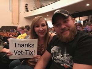 David attended Bill Engvall on Oct 27th 2017 via VetTix