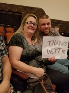 Frederick attended Bill Engvall on Oct 27th 2017 via VetTix