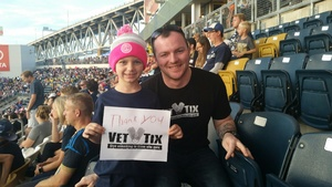 Aaron attended Philadelphia Union vs. Orlando City SC - MLS on Oct 22nd 2017 via VetTix