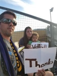 Dominic attended Philadelphia Union vs. Orlando City SC - MLS on Oct 22nd 2017 via VetTix
