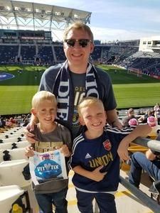 Dan attended Philadelphia Union vs. Orlando City SC - MLS on Oct 22nd 2017 via VetTix