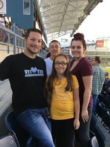 Shannon attended Philadelphia Union vs. Orlando City SC - MLS on Oct 22nd 2017 via VetTix