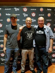 nicholas attended Bellator MMA - Mousasi vs. Shlemenko - King Mo vs. Mcgeary - Presented by Bellator MMA - Mixed Martial Arts on Oct 20th 2017 via VetTix