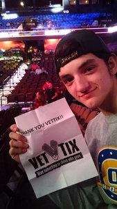 Randall attended Bellator MMA - Mousasi vs. Shlemenko - King Mo vs. Mcgeary - Presented by Bellator MMA - Mixed Martial Arts on Oct 20th 2017 via VetTix