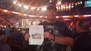 Brian attended Bellator MMA - Mousasi vs. Shlemenko - King Mo vs. Mcgeary - Presented by Bellator MMA - Mixed Martial Arts on Oct 20th 2017 via VetTix