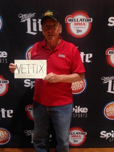 Gene attended Bellator MMA - Mousasi vs. Shlemenko - King Mo vs. Mcgeary - Presented by Bellator MMA - Mixed Martial Arts on Oct 20th 2017 via VetTix