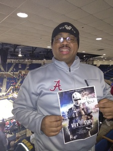 Evlio attended 2017 Veterans Classic With Alabama vs. Memphis and Pittsburgh vs. Navy - NCAA Basketball on Nov 10th 2017 via VetTix