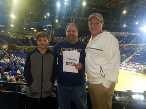 Gregory attended 2017 Veterans Classic With Alabama vs. Memphis and Pittsburgh vs. Navy - NCAA Basketball on Nov 10th 2017 via VetTix