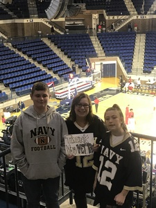 David attended 2017 Veterans Classic With Alabama vs. Memphis and Pittsburgh vs. Navy - NCAA Basketball on Nov 10th 2017 via VetTix