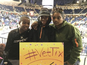 katisha attended 2017 Veterans Classic With Alabama vs. Memphis and Pittsburgh vs. Navy - NCAA Basketball on Nov 10th 2017 via VetTix