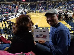 Jeremy A. attended 2017 Veterans Classic With Alabama vs. Memphis and Pittsburgh vs. Navy - NCAA Basketball on Nov 10th 2017 via VetTix