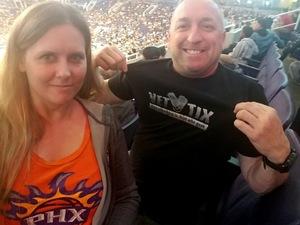 anthony attended Phoenix Suns vs. Miami Heat - NBA on Nov 8th 2017 via VetTix