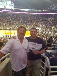 Michael attended Phoenix Suns vs. Miami Heat - NBA on Nov 8th 2017 via VetTix
