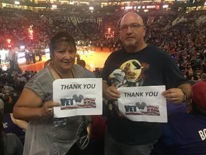 Paul attended Phoenix Suns vs. Miami Heat - NBA on Nov 8th 2017 via VetTix
