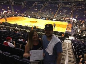 Robert attended Phoenix Suns vs. Miami Heat - NBA on Nov 8th 2017 via VetTix