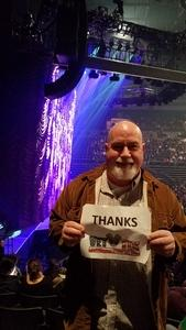James attended Trans Siberian Orchestra - Winter Tour 2017 the Ghosts of Christmas Eve on Nov 26th 2017 via VetTix