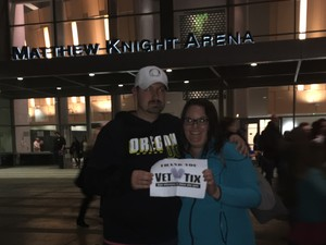 Kirk attended Trans Siberian Orchestra - Winter Tour 2017 the Ghosts of Christmas Eve on Nov 26th 2017 via VetTix