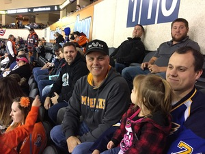 Doug attended Kansas City Mavericks vs. Wichita Thunder - Freedom Friday - ECHL on Nov 10th 2017 via VetTix