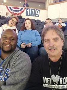 Philip attended Kansas City Mavericks vs. Wichita Thunder - Veterans Day - ECHL on Nov 11th 2017 via VetTix