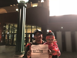 Garvin attended Anaheim Ducks vs. Vancouver Canucks - NHL - Military Appreciation Night! on Nov 9th 2017 via VetTix