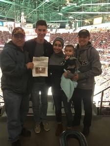 Noel attended Anaheim Ducks vs. Vancouver Canucks - NHL - Military Appreciation Night! on Nov 9th 2017 via VetTix