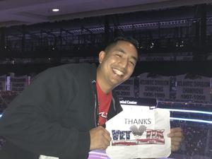 Rey Andrew attended New Jersey Devils vs. Edmonton Oilers - NHL on Nov 9th 2017 via VetTix