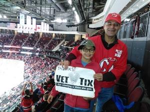 ricardo attended New Jersey Devils vs. Edmonton Oilers - NHL on Nov 9th 2017 via VetTix