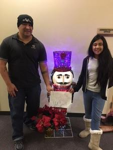 Augustine Haro attended The Nutcracker - Presented by Ensemble Ballet Theatre on Dec 2nd 2017 via VetTix