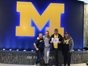 Joseph attended University of Michigan vs. North Florida - NCAA Mens Basketball on Nov 11th 2017 via VetTix