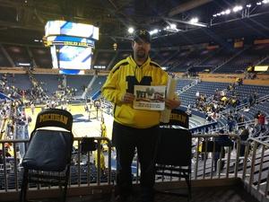 Mark attended University of Michigan vs. North Florida - NCAA Mens Basketball on Nov 11th 2017 via VetTix