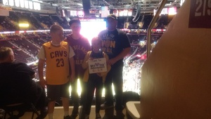 Kevin attended Cleveland Cavaliers vs. Chicago Bulls - NBA on Oct 24th 2017 via VetTix