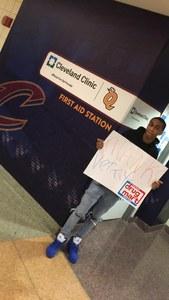 Jasmire attended Cleveland Cavaliers vs. Chicago Bulls - NBA on Oct 24th 2017 via VetTix