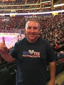 Jerome attended Arizona Coyotes vs. Carolina Hurricanes - NHL - Military Appreciation Game! on Nov 4th 2017 via VetTix
