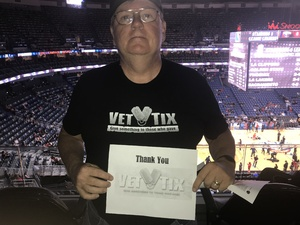 Chris Wheat attended New Orleans Pelicans vs. Orlando Magic - NBA on Oct 30th 2017 via VetTix