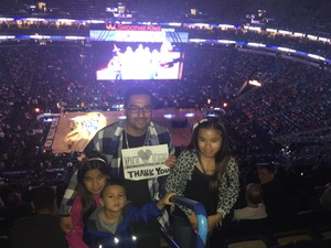 David attended New Orleans Pelicans vs. Orlando Magic - NBA on Oct 30th 2017 via VetTix