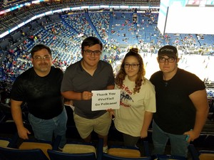 Charles attended New Orleans Pelicans vs. Orlando Magic - NBA on Oct 30th 2017 via VetTix
